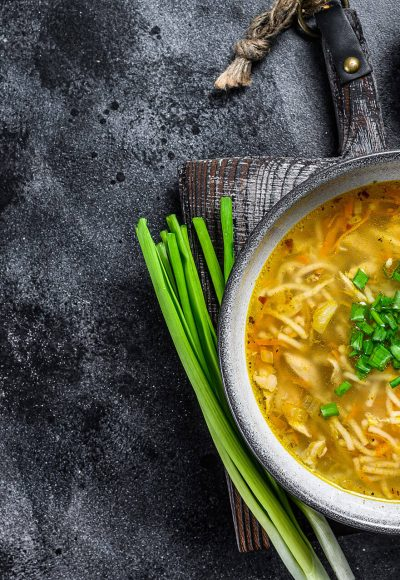 Bistra pileća supa